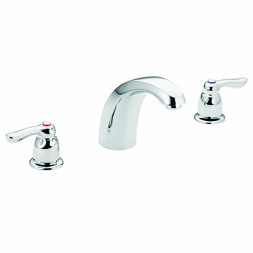 Moen T994 Chateau Two-Handle Low Arc Roman Tub Faucet without Valve, (Chateau Two Handle Garden)