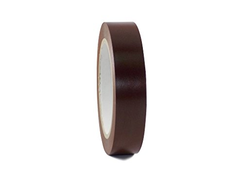 T.R.U. CVT-536 Brown Vinyl Pinstriping Dance Floor Tape: 1 in. wide x 36 yds. Several Colors -
