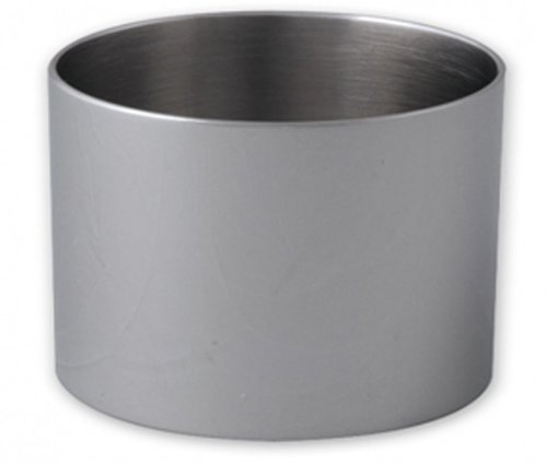 Cuisinox RNG-10075 Pastry Ring/Food Stacker, 100mm by 75mm