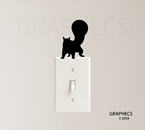 Lady and the Tramp Dogs Vinyl Decal Sticker Light Switch Kids Nursery