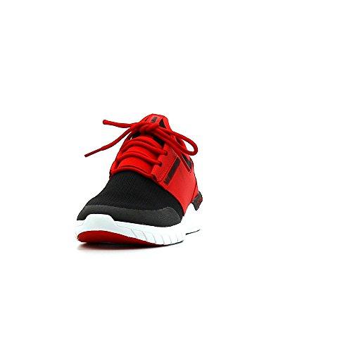 Supra Flow Run, Pantofole Uomo RED / BLACK - WHITE
