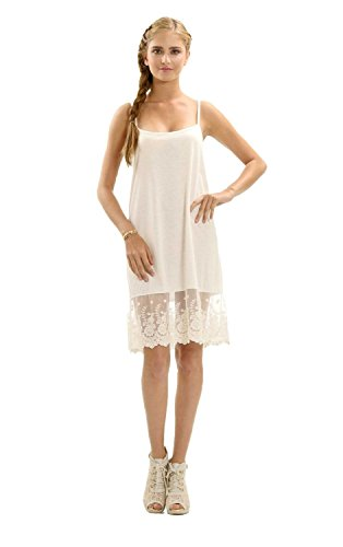 lace dress slip - 1