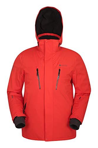 Mountain Warehouse Galactic Extreme Mens Ski Jacket -Warm Winter Coat Orange XX-Large