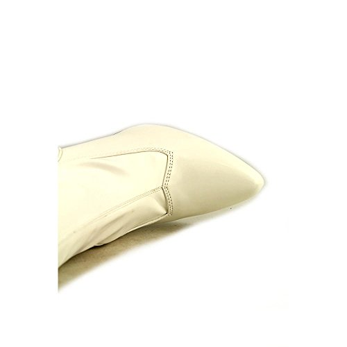 Glossy 3000 Womens Seduce Boots Pleaser White zq7SxpTw