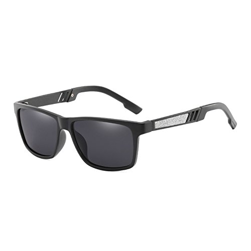 polarizadas Conducción Revestimiento Sol JR66278 de de de Macho Negros Frame Sol Sol TL Espejo Gafas de C1 Sunglasses JR66278 Puntos Hombre Gafas de C4 Gafas Moda UV400 Gafas qwnfx6vz