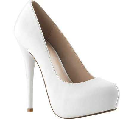 Pleaser Day and Night Hidden PF Round Toe Pump tOnsL5