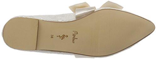 Zapatos Marfil Para Boda 04 Miriam De ivory Mujer Wedding Menbur OBEq0O