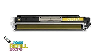 Toner Refill Store Yellow Compatible Toner Cartridge for the HP Color LaserJet CE312A CP1020 CP1025 CP 1025 CP1025nw