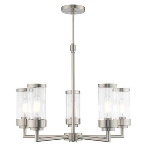Amazon.com: Livex 40475-91 Hillcrest 5 - Lámpara de techo ...