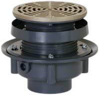 Soux Chief 833-2PNR 833 Series Finish Line Adjustable Flashing Drain for Drainage Systems Soux Chief Mfg.