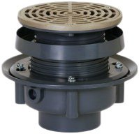 Soux Chief 833-2PNR 833 Series Finish Line Adjustable Flashing Drain for Drainage Systems