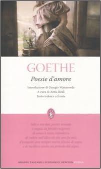 Book Poesie d'amore. Testo tedesco a fronte