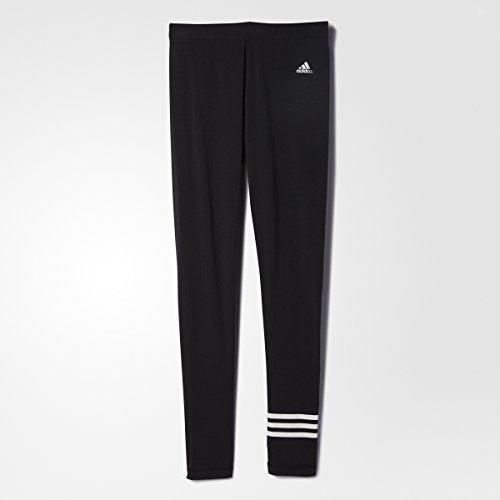 adidas Originals Womens 3 Stripes Legging Black/White AA0739 Size Medium