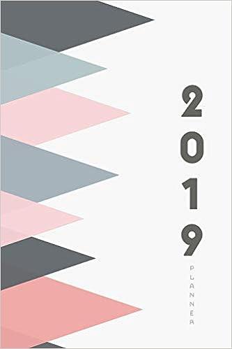 2019 Planner: Monthly Schedule Organizer Agenda, 12 months ...