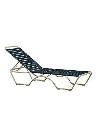 Prime Amazon Com Tropitone By Casual Living Kahana Strap Chaise Interior Design Ideas Helimdqseriescom