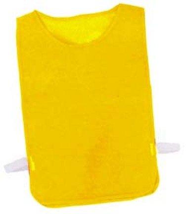 Adult Gold Nylon Mesh Pinnies - 1 Dozen (Pinnie Nylon Mesh Adult)