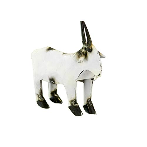 Rustic Arrow Goat for Decor, 3 by 9.5 by 7.5-Inch, ()