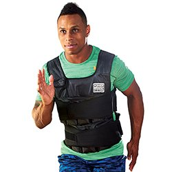 Power Systems VersaFit Adjustable Weighted Exercise Vest, 20 Pounds, Black, (13228) by Power Systems