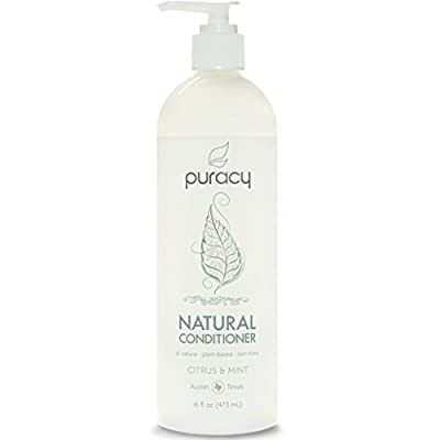 Puracy Natural Conditioner - Sulfate-Free - THE BEST Daily Hair Moisturizer - Clinically Superior Ingredients - Developed by Doctors for Men & Women - Citrus & Mint - 16 ounce
