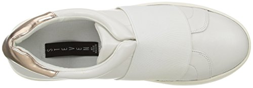 White by STEVEN Women's Bravia Sneaker Steve Fashion Madden 7C0wq