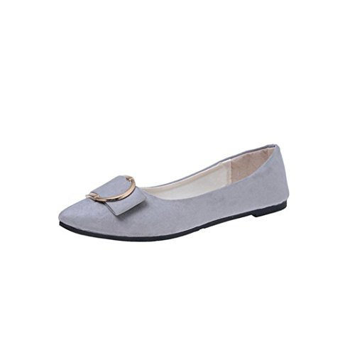 Anneau Daim Casual Ballerines Femme Cuir Hiver Overdose Automne Plates Chaussures Loafers Large Flat avec qxwC8ECT