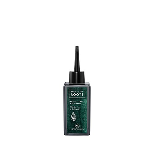 Back to the Roots Revitalizing Hair Tonic - Hair & Scalp Tonic for Itchy and Irritated Scalp and Dandruff, Soothing Scalp Serum with Cooling Menthol and Tea Tree Oil - 5 oz Vegan