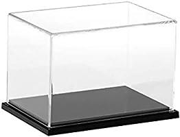 Backbayia Caja acrílico Transparente Vitrina de exposición Caja de ...