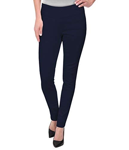 HyBrid & Company Super Comfy Stretch Pull On Millenium Pants KP44972 Navy Medium ()
