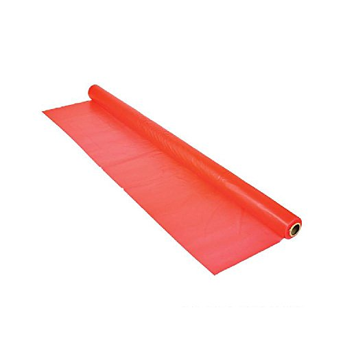 Red Tablecloth Rolls 1Mil 100'X40