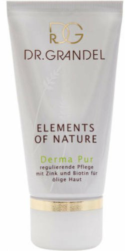 Dr Grandel Elements of Nature Derma Pur 50 ml. 24-hour care Regulatory treatment with zinc and biotin for oily - Oil Dr Grandel Skin