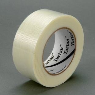 Tartan Filament Tape 8934 Clear, 72 mm x 55 m (Case of 12) by Tartan (Image #1)