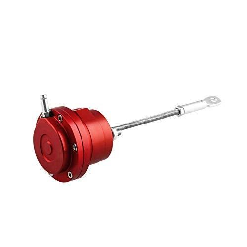 Universal Turbo Adjustable Wastegate Actuator with 1 x Rod & 1 x Spring (Red)