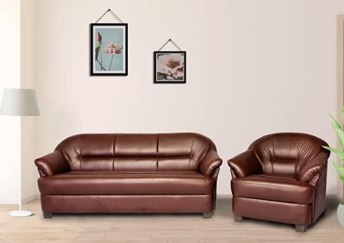 NapCloud Premium Sofas   Benzo Royale   1 Seater Leatherette Sofa