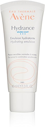 Eau Thermale Avene Hydrance LIGHT Hydrating Emulsion, Daily Face Moisturizer Cream, Non-Comedogenic, 1.3 oz. (Mixed Emulsions)