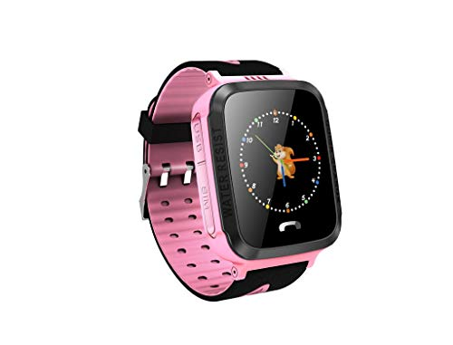 WFeieig Children's Watches Waterproof Children's Smart Watch Mobile Phone Tracking Positioning USB Smart Phone Watch