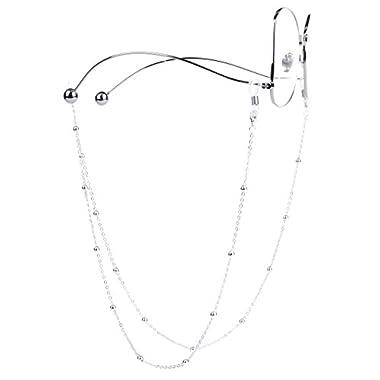 70ed09365b30 Mini Tree Eyeglass Chains for Women Beaded Reading Glasses Cords Sunglasses  Holder Strap Lanyards Eyewear Retainer