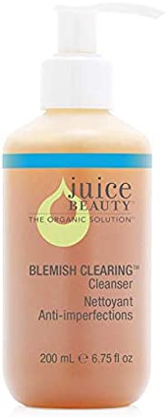 Juice Beauty Blemish Clearing Cleanser, Face Wash Oily Acne Combination Skin, w/ Organic Aloe (packaging may vary) 6.75 fl. o