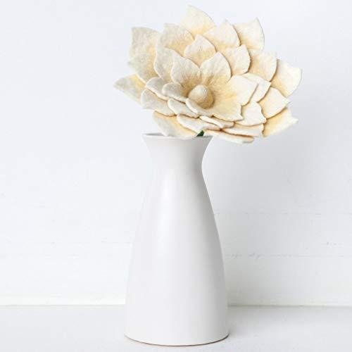 Global-Goods-Partners-Flower-Show-White-Felt-Lotus-Flower