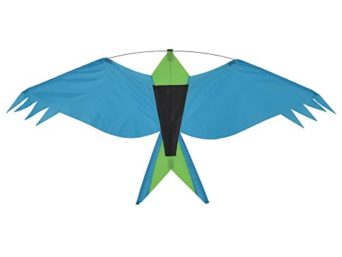 In the Breeze Bird Silhouette Kite, Teal]()