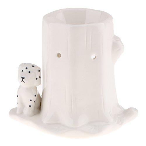 MagiDeal Vintage Animal Essential Oil Censer Votive Tea Light Candle Holder Crafts - Dog by Unknown