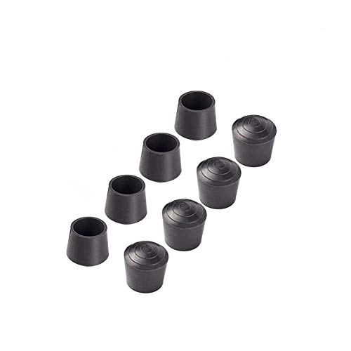 (Jocon SF9001 Rubber Leg Tips Shelf End Cap Tips 7/8 inch (7/8 inch Dia (22mm), 8 PCS,)