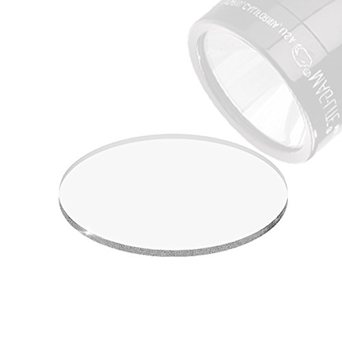 Weltool Maglite Flashlight Lens Upgrade for C or D Cell Maglite Flashlights - Tempered Glass Lens Shatterproof and - Lenses Plastic Glasses