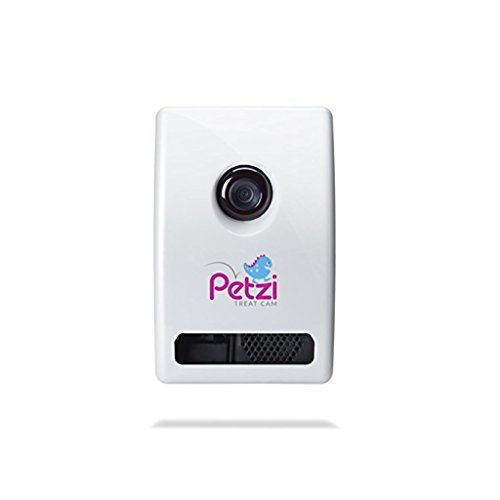 Petzi Treat Cam: Wi-Fi Pet Camera & Treat Dispenser (Choose New or Certified Refurbished) (Certified...
