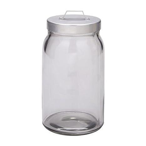 Ikea Osterburken Barattolo con coperchio; in vetro trasparente; (1 ...
