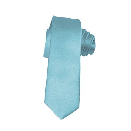"Skinny Ties - Multiple Solid Colors - Classic 2"" width by K. Alexander"