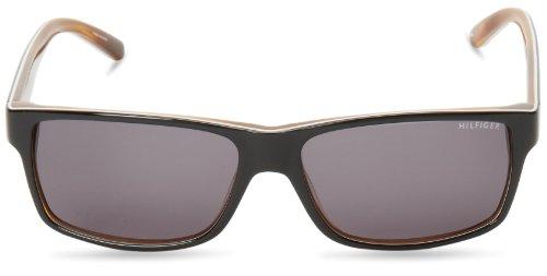 S N Blkwhtehorn Sonnenbrille Grey 1042 TH Hilfiger Noir Tommy wIqCXn4C