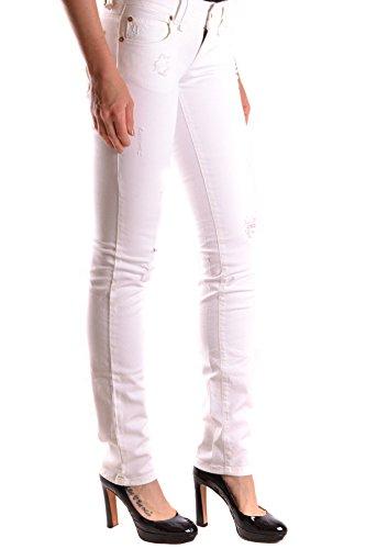 Jeans Cotone Bianco Donna Mcbi130062o Galliano SqvUdng