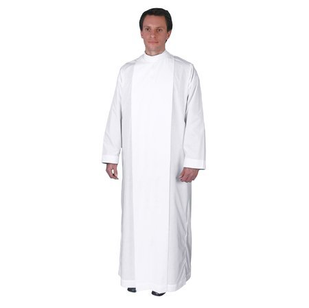 Plain Clergy Alb (sized by length in inches) (55'') by Graduation Attire