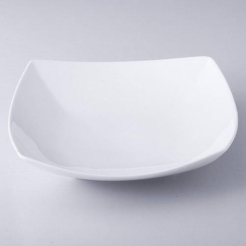 【6個セット】 白い大皿  (小) 【お得なセット商品 料亭 旅館 飲食店 の 業務用 和食器】   B07F9JNK8C