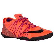 Nike Women's Free 1.0 Cross Bionic 2 Running Shoe (11 B(M) US, Hyperorange/Black/Vividpurple) (Nike Cross Bionic Shoes Women)
